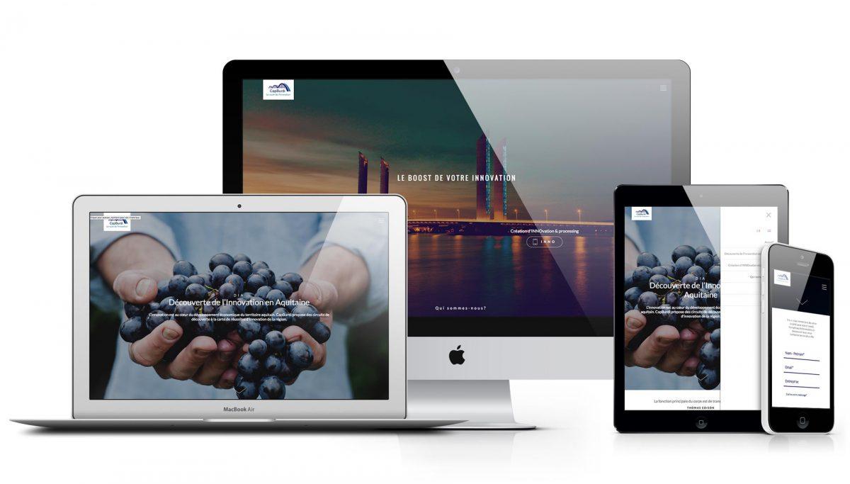 Novelar Création Site Web Responsive